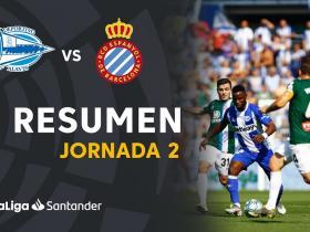 西班牙人客场0-0战平阿拉维斯,武磊替补出场