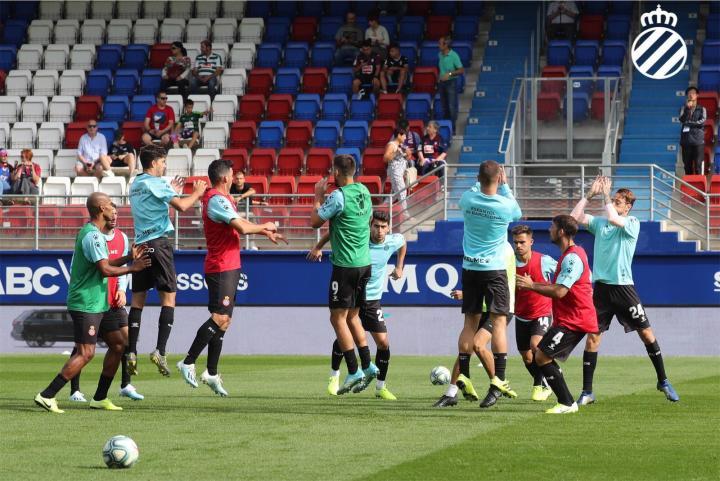 #埃瓦尔vs西班牙人# 赛前热身,做最后的准备!