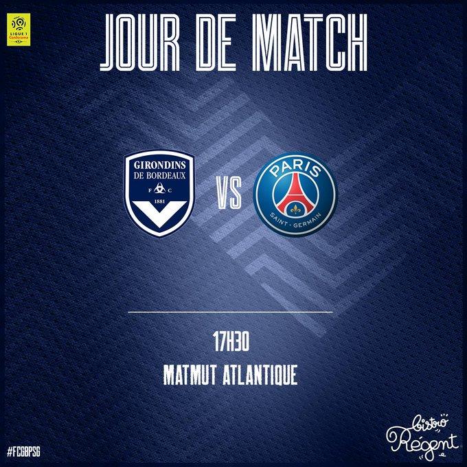 比赛日:法甲第8轮,波尔多VS巴黎圣日耳曼