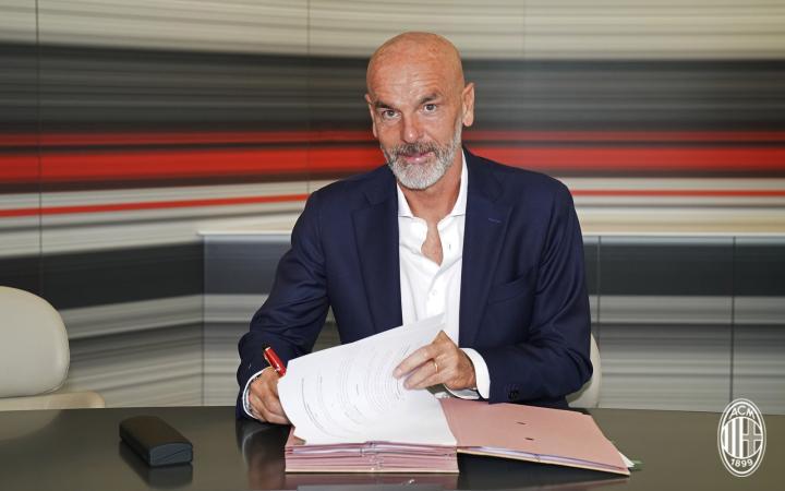 官方:皮奥利正式出任AC米兰主教练,与球队签约两年