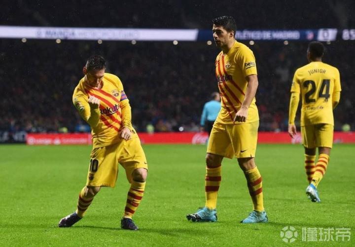 巴萨1-0马竞复盘:我巴尔韦德有梅西,你西蒙尼有啥?