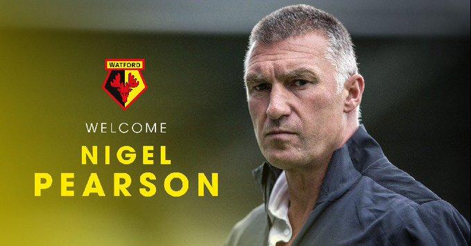 官宣 |  尼格爾-皮爾森擔任沃特福德主教練