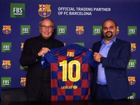 巴塞罗那足球俱乐部与国际经纪商公司FBS成为全球合作伙伴