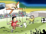 中国足球史话:吊射门