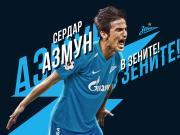 官方:伊朗球星阿兹蒙加盟泽尼特,签约三年半