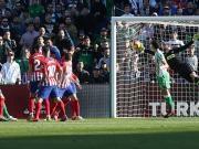 足球视频集锦:皇家贝蒂斯 1-0 马德里竞技