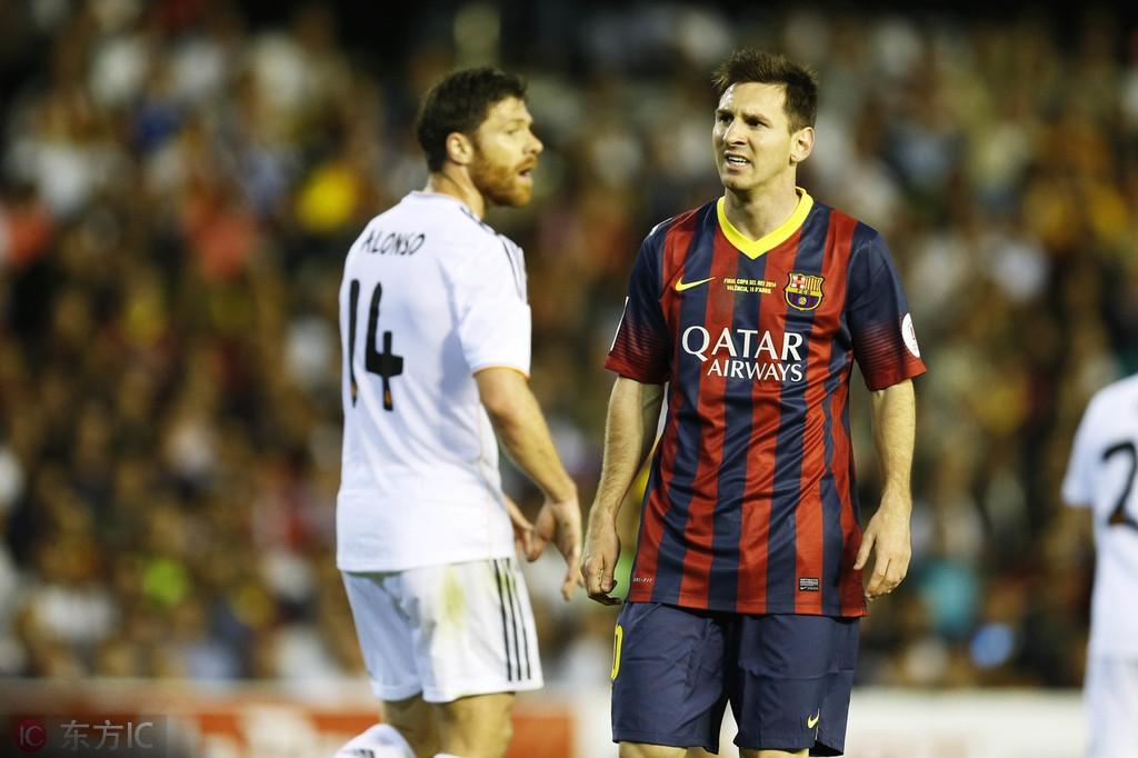国王杯赛场6次对阵皇马,梅西还从来没有进过球