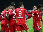 拜仁3-2客胜赫塔进德国杯八强,格纳布里双响,科曼加时制胜