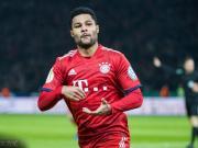格纳布里:比赛很艰难,丢球后拜仁很快做出回应