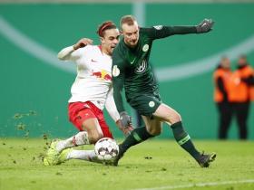 足球视频集锦:RB莱比锡 1-0 沃尔夫斯堡