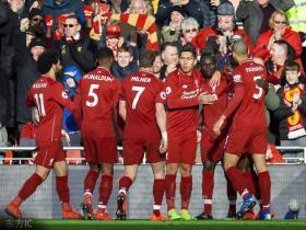 半场战报:利物浦2-0伯恩茅斯,马内和威纳尔杜姆先后破门