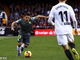 足球视频集锦:瓦伦西亚 0-0 皇家社会