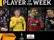 欧联杯周最佳球员提名:巴克利和卡列洪入选
