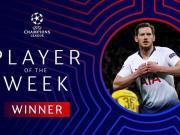 撒花!维尔通亨当选本周欧冠联赛最佳球员