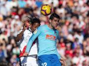 半场战报:巴列卡诺0-0马德里竞技,奥布拉克献精彩扑救