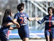 巴黎女足4-0大勝弗勒里91,王霜頭球破門+精準直塞助攻