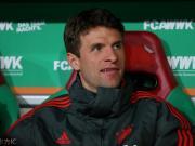 踢球者:尽管无法出场,穆勒仍同拜仁一起前往利物浦