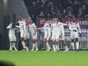里昂本赛季欧冠主场战绩不佳,1场未胜每场失2球