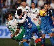 足球视频集锦:恩波利 3-0 萨索洛