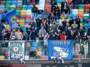 哀悼,一名乌迪内斯球迷在现场观赛时突发心肌梗塞去世