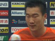 刘军帅:有想到资格赛会比较困难,正赛上会努力把握机会取胜