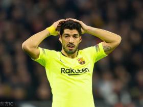 西媒:苏亚雷斯带伤参加与利物浦的次回合比赛