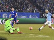 连续7场欧冠客场进球,阿圭罗成英超第一人