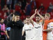 十人塞维利亚2-0十人拉齐奥晋级欧联十六强,本