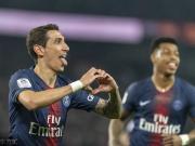巴黎6分钟3球,5-1大胜蒙彼利埃,迪马利亚任意球破门