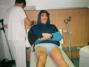 手术成功,贝莱林发推调侃伤口:看上去又有膝盖的样子了