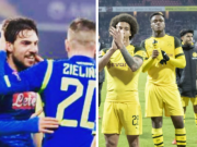 本赛季至今欧洲五大联赛主场不败的两队:那不勒斯和多特蒙德