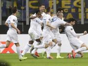 半场战报:国米2-0维也纳快速,贝西诺、拉诺基亚破门
