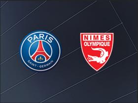 巴黎圣日耳曼vs尼姆:姆巴佩领衔,帕雷德斯首发
