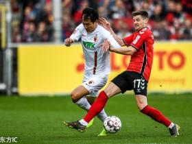 足球视频集锦:弗赖堡 5-1 奥格斯堡