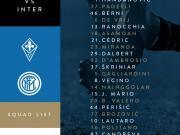 国米客战佛罗伦萨名单:伊卡尔迪和凯塔-巴尔德继续缺阵
