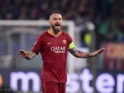 罗马客战弗罗西诺内,德罗西第200次以球队队长身份出场