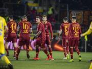 罗马3-2客胜弗罗西诺内,哲科梅开二度+献绝杀,马诺伤退