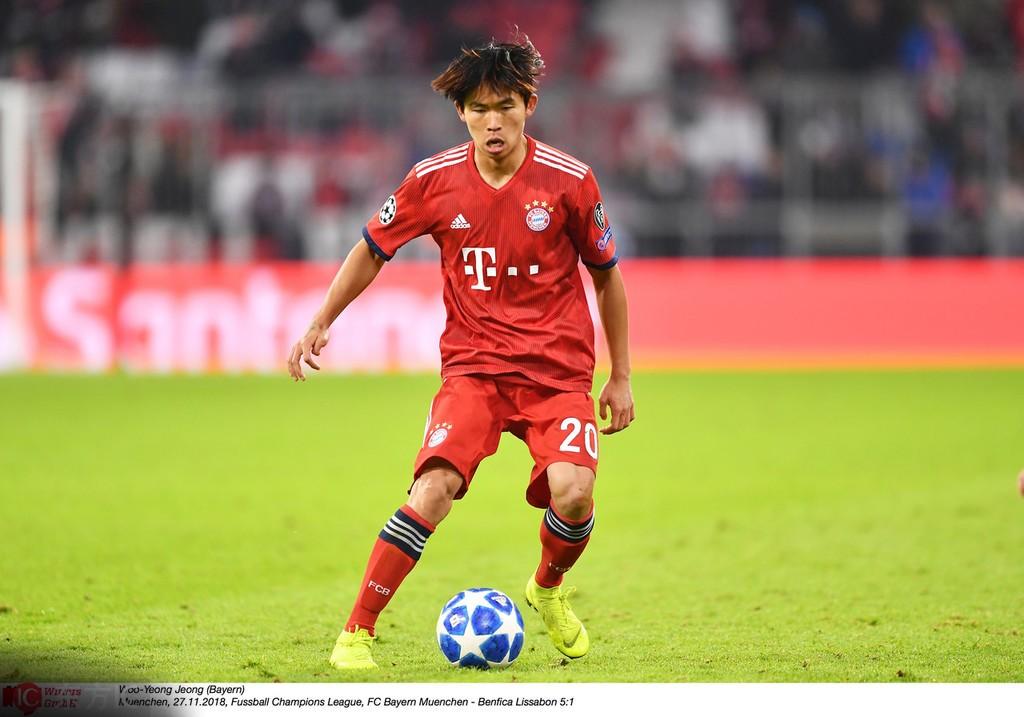踢球者:纽伦堡有意拜仁慕尼黑小将郑优营
