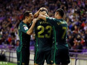 足球视频集锦:巴拉多利德 0-2 皇家贝蒂斯