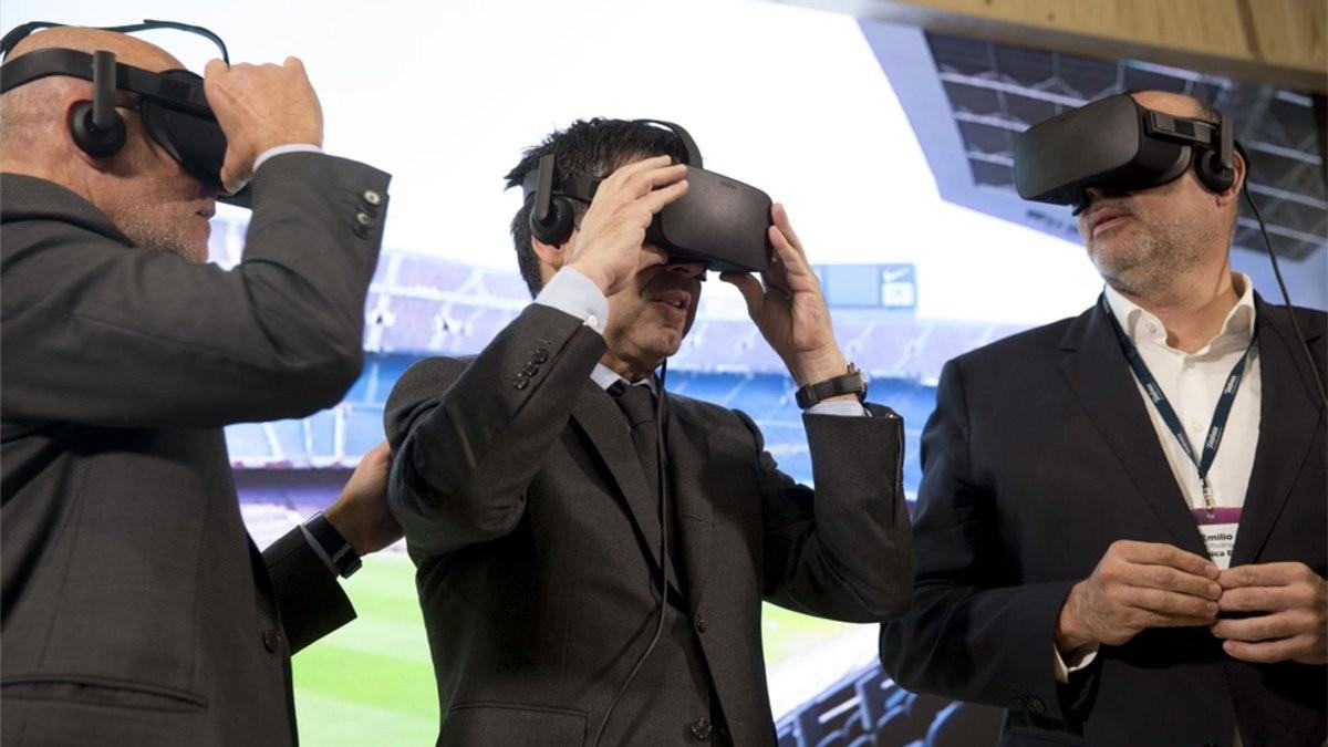 诺坎普将引进5G技术,为球迷在家中提供身临其境观赛体验