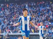 武磊:感谢所有人的鼓励,很开心收获西甲首球