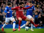 利物浦0-0客平埃弗顿跌至第二落后曼城1分,萨拉赫两失单刀
