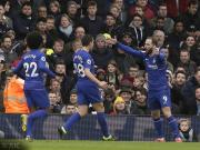 92支英格兰联赛球队,切尔西是第91支取得新年客场进球的球队