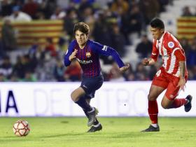 足球视频集锦:巴塞罗那 0-1 赫罗纳