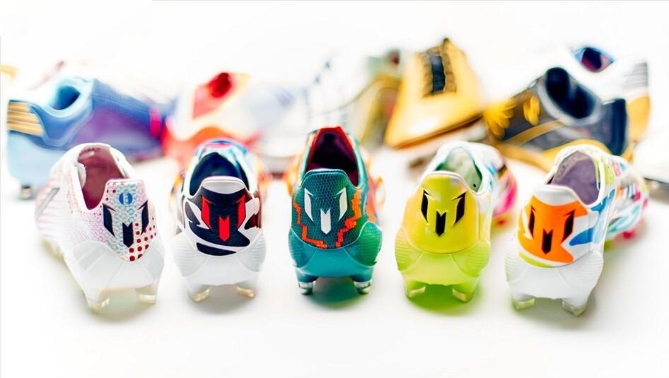 经典回顾细数梅西的17双阿迪达斯F50专属球鞋