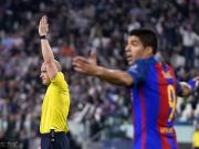 本周欧冠裁判组公布,巴萨遇当年客场0-4不敌巴黎一役主裁