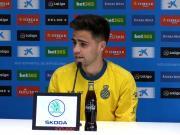 梅伦多:武磊最擅长摆脱防守,他很好地适应了西班牙足球