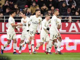 巴黎4-0客胜领先第二17分,姆巴佩25球领跑射手榜,天使传射