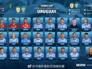 官方:卡瓦尼缺席中国杯,苏亚雷斯依然在列