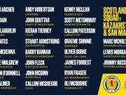 苏格兰大名单:罗伯逊和麦克托米奈入选